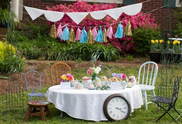 ideas for an alice in wonderland tea party