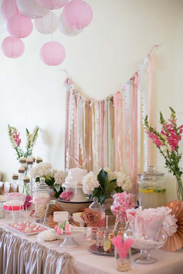 Shabby Chic Party via Kara's Party Ideas | KarasPartyIdeas.com #shabby #chic #girl #party #wedding #ideas (16)