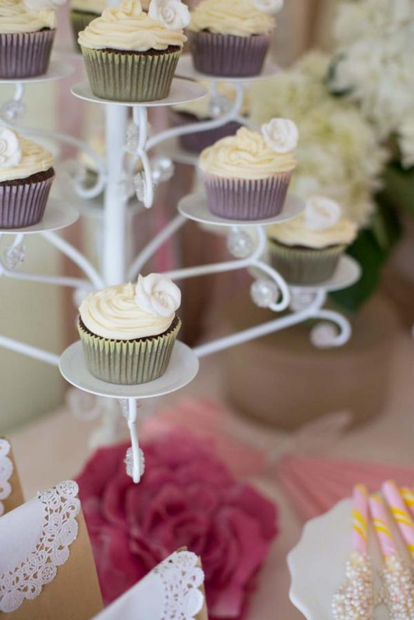 Shabby Chic Party via Kara's Party Ideas | KarasPartyIdeas.com #shabby #chic #girl #party #wedding #ideas (7)