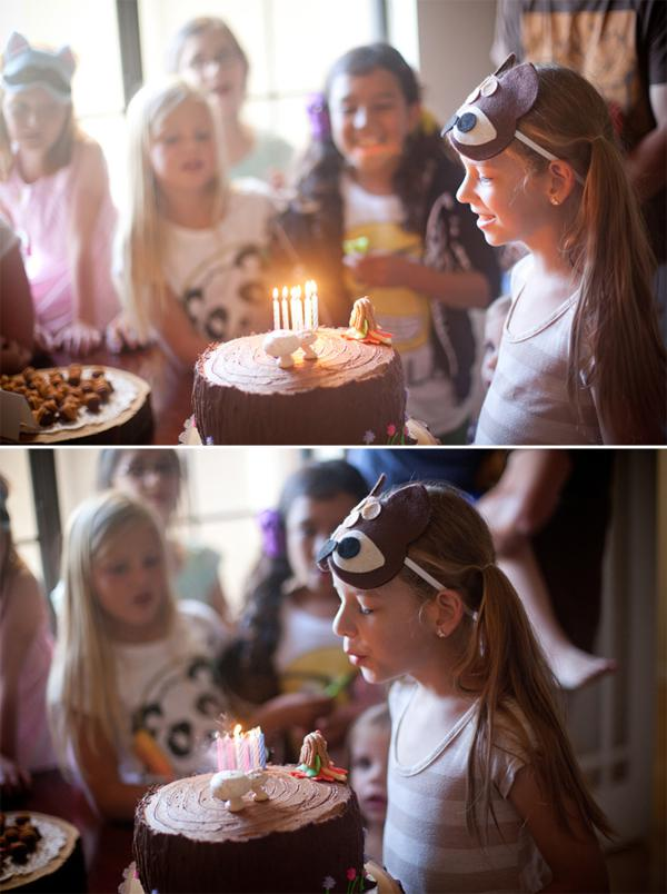 Woodland Animal Birthday Party via Kara's Party Ideas | KarasPartyIdeas.com #woodland #animal #birthday #party #ideas (7)