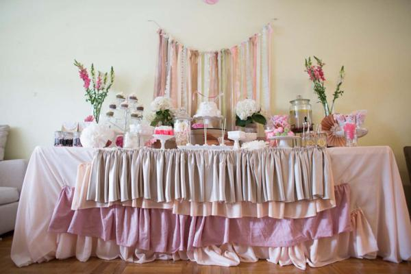 Shabby Chic Party via Kara's Party Ideas | KarasPartyIdeas.com #shabby #chic #girl #party #wedding #ideas (4)
