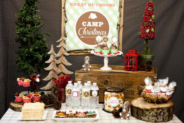 Camp Christmas Holiday Party