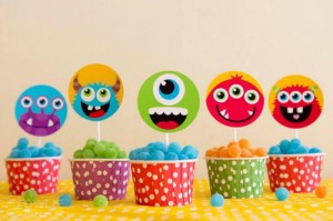 Colorful Monster Party via KarasPartyIdeas.com #MonsterParty #boy #monster #party #idea (5)