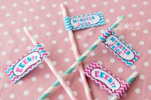 Girly Monster Baby Shower via KarasPartyIdeas.com #monster #baby #shower #girl #idea #planning (6)