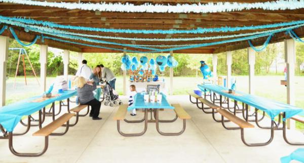 Cookie Monster Party via Kara's Party Ideas | KarasPartyIdeas.com #chic #girl #blue #DIY #cookie #monster #party #ideas (25)