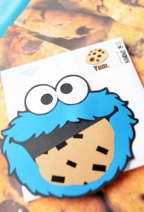 Cookie Monster Party via Kara's Party Ideas | KarasPartyIdeas.com #chic #girl #blue #DIY #cookie #monster #party #ideas (24)