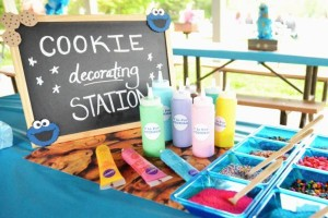 Cookie Monster Party via Kara's Party Ideas | KarasPartyIdeas.com #chic #girl #blue #DIY #cookie #monster #party #ideas (20)
