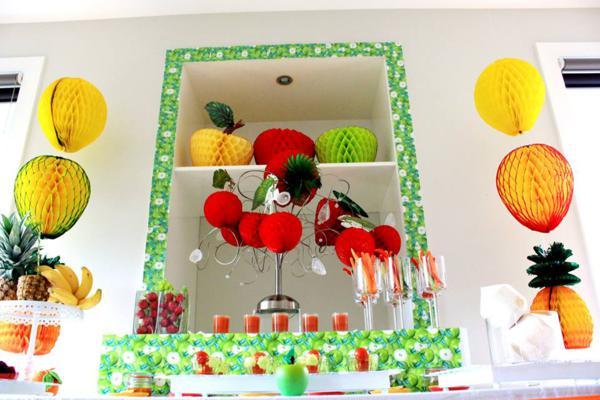 Tutti Frutti Birthday Party via Kara's Party Ideas | KarasPartyIdeas.com #tutti #frutti #healthy #fruit #birthday #party #ideas (66)