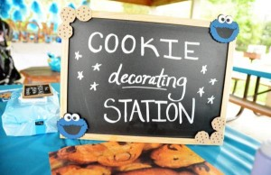 Cookie Monster Party via Kara's Party Ideas | KarasPartyIdeas.com #chic #girl #blue #DIY #cookie #monster #party #ideas (19)