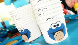 Cookie Monster Party via Kara's Party Ideas | KarasPartyIdeas.com #chic #girl #blue #DIY #cookie #monster #party #ideas (15)