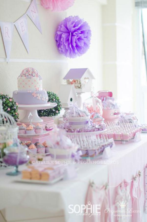 Kara S Party Ideas Pink Lilac Purple Butterfly Flowers