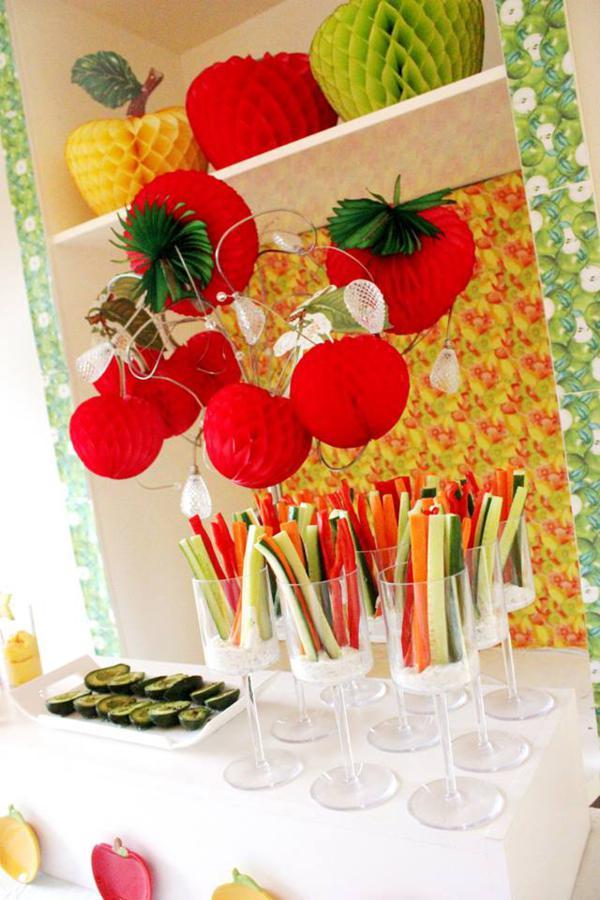 Tutti Frutti Birthday Party via Kara's Party Ideas | KarasPartyIdeas.com #tutti #frutti #healthy #fruit #birthday #party #ideas (58)