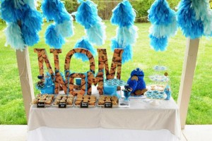 Cookie Monster Party via Kara's Party Ideas | KarasPartyIdeas.com #chic #girl #blue #DIY #cookie #monster #party #ideas (36)