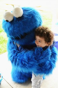 Cookie Monster Party via Kara's Party Ideas | KarasPartyIdeas.com #chic #girl #blue #DIY #cookie #monster #party #ideas (7)