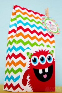 Colorful Monster Party via KarasPartyIdeas.com #MonsterParty #boy #monster #party #idea (15)