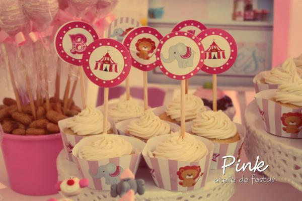 Girly Circus Party via Kara's Party Ideas | KarasPartyIdeas.com #girly #circus #carnival #party #ideas (82)