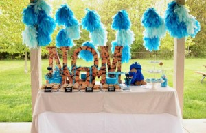 Cookie Monster Party via Kara's Party Ideas | KarasPartyIdeas.com #chic #girl #blue #DIY #cookie #monster #party #ideas (34)