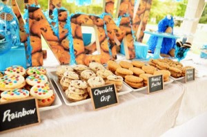 Cookie Monster Party via Kara's Party Ideas | KarasPartyIdeas.com #chic #girl #blue #DIY #cookie #monster #party #ideas (33)