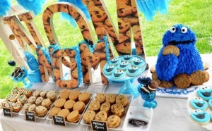 Cookie Monster Party via Kara's Party Ideas | KarasPartyIdeas.com #chic #girl #blue #DIY #cookie #monster #party #ideas (31)
