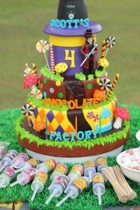 Willy Wonka Party via Kara's Party Ideas | KarasPartyIdeas.com #willy #wonka #chocolate #candy #factory #party #ideas (32)