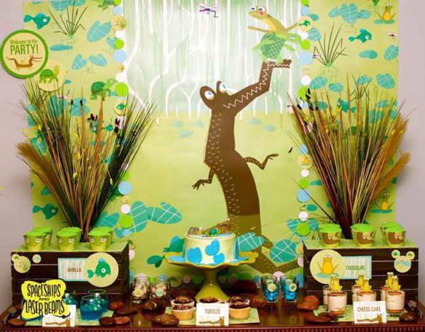 Alligator Bayou Bash via Kara's Party Ideas | KarasPartyIdeas.com #alligator #bayou #party #ideas (15)