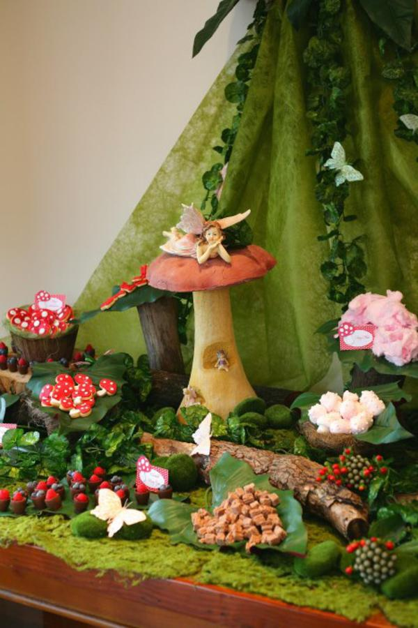 Kara S Party Ideas Enchanted Forest Woodland Fairy Girl Birthday