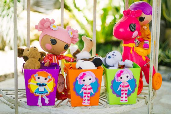 Lalaloopsy Birthday Party via Kara's Party Ideas | KarasPartyIdeas.com #lalaloopsy #doll #girl #birthday #party #ideas (5)