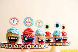 Colorful Monster Party via KarasPartyIdeas.com #MonsterParty #boy #monster #party #idea (21)