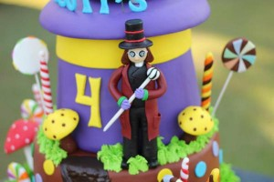 Willy Wonka Party via Kara's Party Ideas | KarasPartyIdeas.com #willy #wonka #chocolate #candy #factory #party #ideas (17)