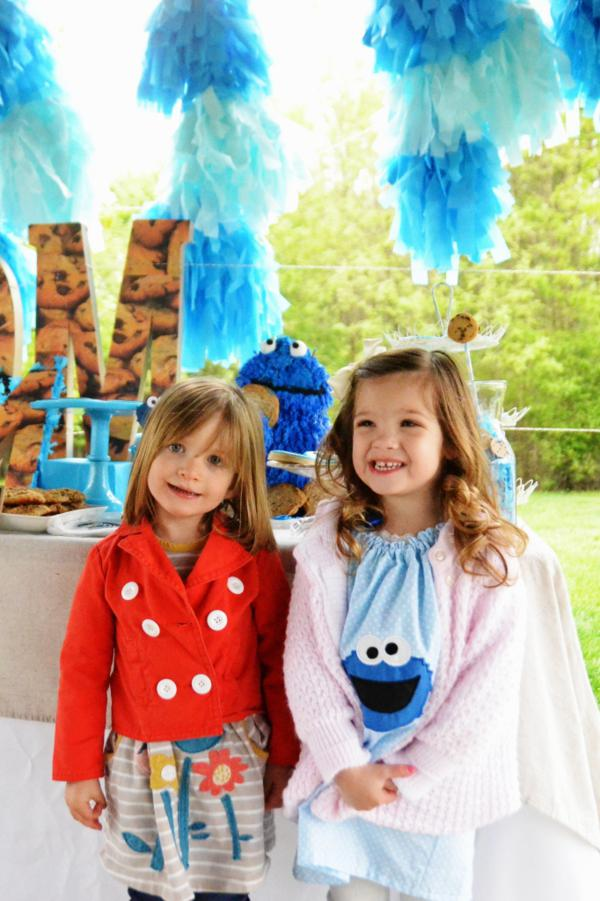 Cookie Monster Party via Kara's Party Ideas | KarasPartyIdeas.com #chic #girl #blue #DIY #cookie #monster #party #ideas (27)
