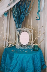 Under the Sea Mermaid Party via Kara's Party Ideas | KarasPartyIdeas.com #under #sea #mermaid #ocean #girl #party #ideas (43)