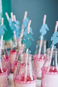 Under the Sea Mermaid Party via Kara's Party Ideas | KarasPartyIdeas.com #under #sea #mermaid #ocean #girl #party #ideas (35)