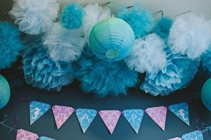 Under the Sea Mermaid Party via Kara's Party Ideas | KarasPartyIdeas.com #under #sea #mermaid #ocean #girl #party #ideas (20)