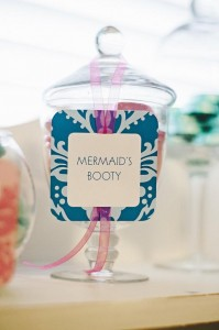 Under the Sea Mermaid Party via Kara's Party Ideas | KarasPartyIdeas.com #under #sea #mermaid #ocean #girl #party #ideas (6)