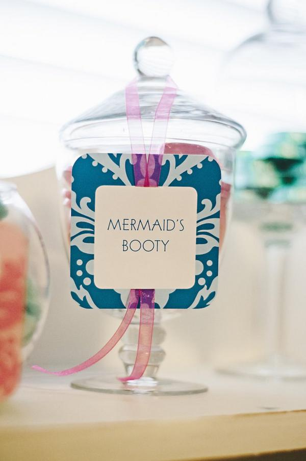 Kara's Party Ideas Under the Sea Mermaid Ocean Girl Party Planning Ideas Decorations