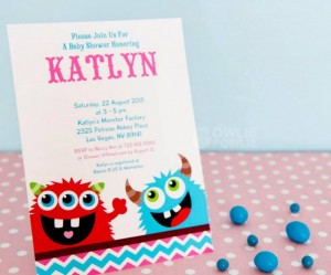Girly Monster Baby Shower via KarasPartyIdeas.com #monster #baby #shower #girl #idea #planning (18)