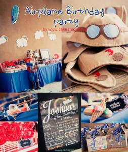 Aviator Birthday Party via Kara's Party Ideas | KarasPartyIdeas.com #aviator #airplane #birthday #party #ideas #supplies (2)