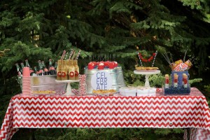 4th of July Party via Kara's Party Ideas #outdoor #patriotic #July #4th (16)
