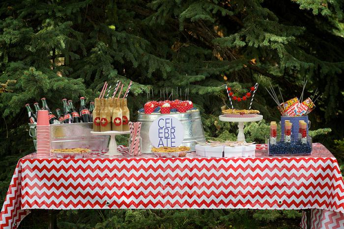 Kara 39 s party ideas 4th of july party via kara s party for Outdoor cocktail party decorating ideas