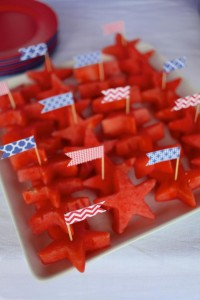 4th of July Party via Kara's Party Ideas #outdoor #patriotic #July #4th (14)