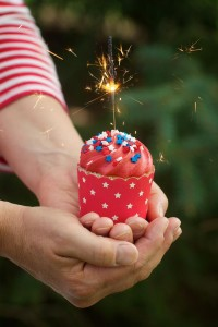 4th of July Party via Kara's Party Ideas #outdoor #patriotic #July #4th (7)