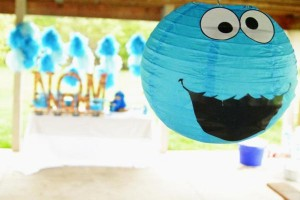 Cookie Monster Party via Kara's Party Ideas | KarasPartyIdeas.com #chic #girl #blue #DIY #cookie #monster #party #ideas (26)