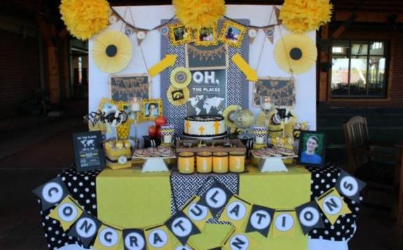 Graduation Party via Kara's Party Ideas | KarasPartyIdeas.com #graduation #party #ideas #dr #seuss (23)