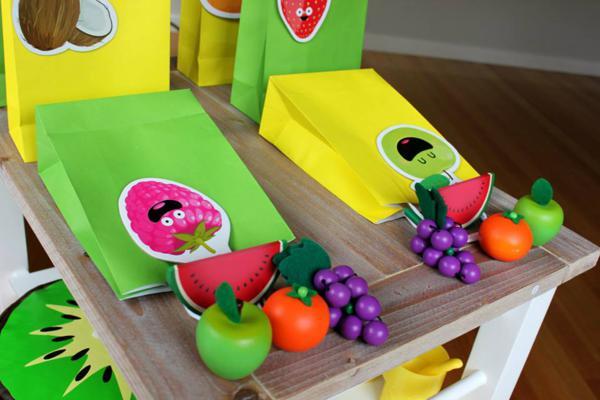 Tutti Frutti Birthday Party via Kara's Party Ideas | KarasPartyIdeas.com #tutti #frutti #healthy #fruit #birthday #party #ideas (37)