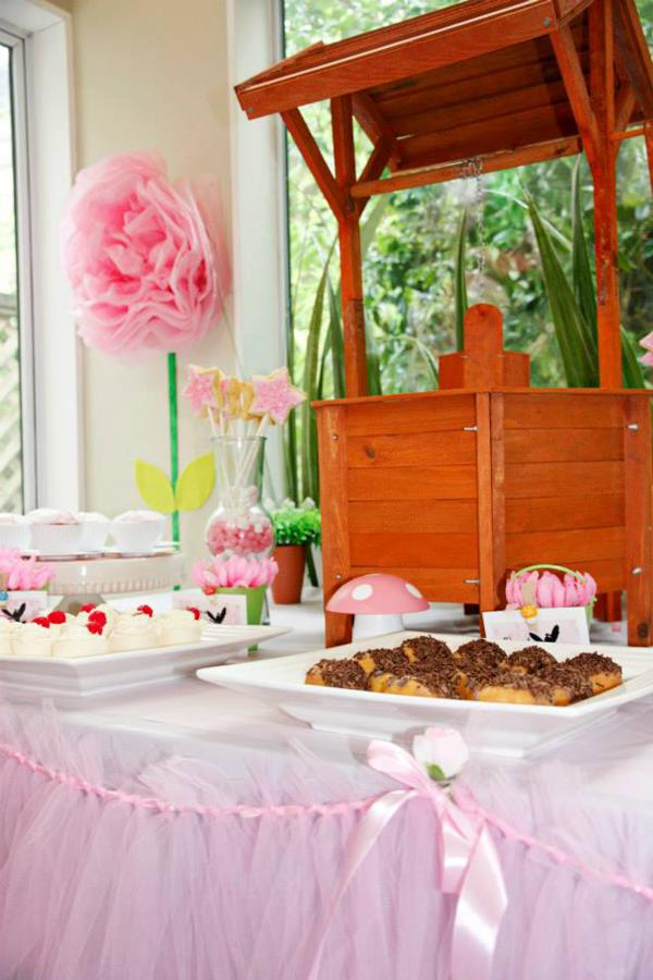 Pink Fairy Party via Kara's Party Ideas | KarasPartyIdeas.com #pink #fairy #girl #party #ideas (18)