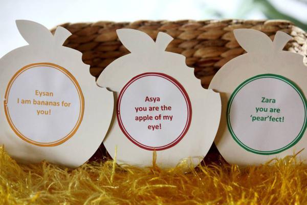 Tutti Frutti Birthday Party via Kara's Party Ideas | KarasPartyIdeas.com #tutti #frutti #healthy #fruit #birthday #party #ideas (33)