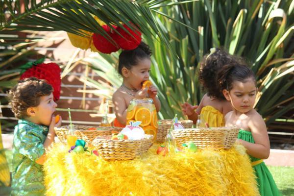 Tutti Frutti Birthday Party via Kara's Party Ideas | KarasPartyIdeas.com #tutti #frutti #healthy #fruit #birthday #party #ideas (19)
