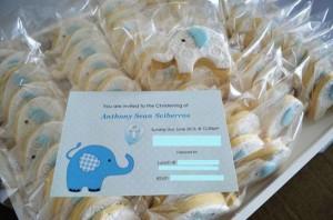 Blue Elephant Christening Party via Kara's Party Ideas | KarasPartyIdeas.com #blue #elephant #boy #christening #baptism #party #ideas (6)