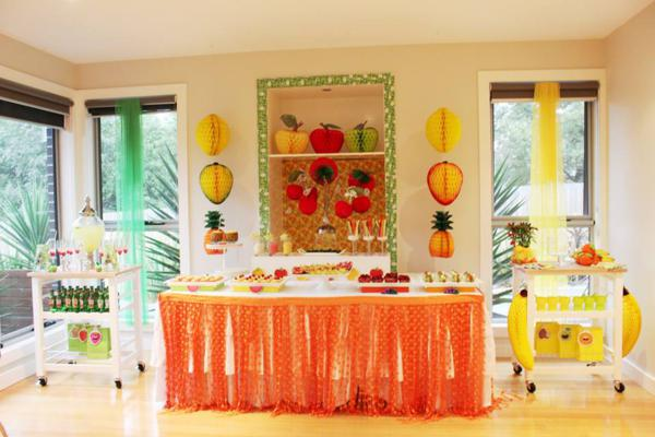 Tutti Frutti Birthday Party via Kara's Party Ideas | KarasPartyIdeas.com #tutti #frutti #healthy #fruit #birthday #party #ideas (11)