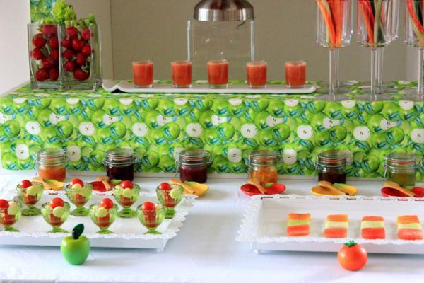 Tutti Frutti Birthday Party via Kara's Party Ideas | KarasPartyIdeas.com #tutti #frutti #healthy #fruit #birthday #party #ideas (10)